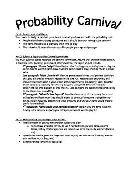 Probability Carnival