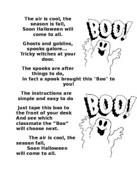 Halloween Activity