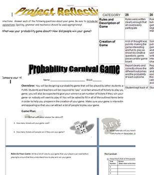 Probability Carnival Project FUN!