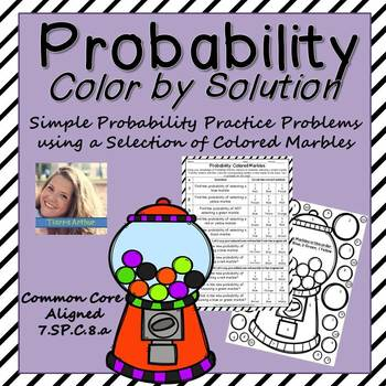 Probability: Color By Solution
