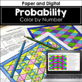 Probability Color by Number Distance Learning