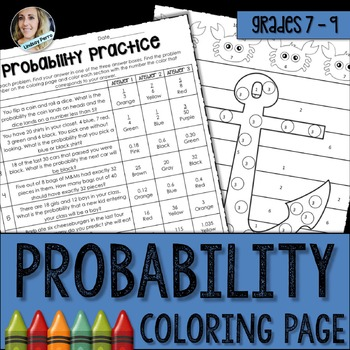 Probability Coloring Activity