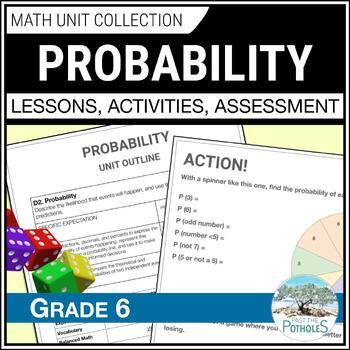 Probability Complete Math Unit