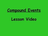 Probability Compound Events Lesson Video