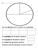 Probability Create a Spinner and Tally Chart