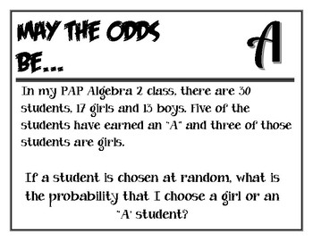 Probability Cypher Activity