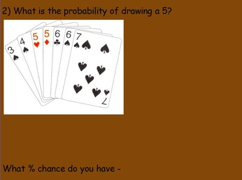 Probability - Deck of Cards Part 2 (SMART BOARD)