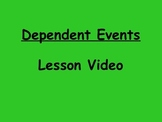 Probability Dependent Events Lesson Video
