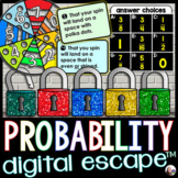 Probability Digital Math Escape Room