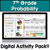 Probability Distance Learning Digital Activity Pack!