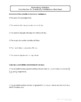 Probability Distributions Worksheet Bundle