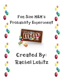 Probability Experiment using M&M's