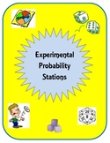 Probability: Experimental and Theoretical Probability Notes and Stations