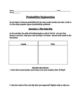 Probability Exploration - Editable