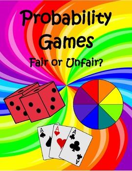 Probability - Fair or Unfair?