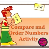 Compare and Order Numbers Activity