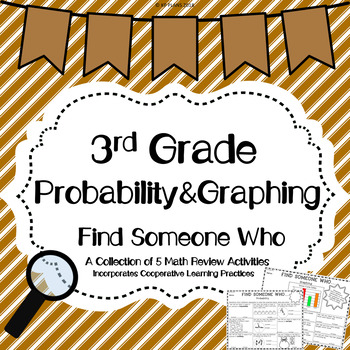 Graphing And Probability Find Someone Who Activity!