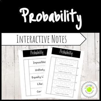Probability Foldable