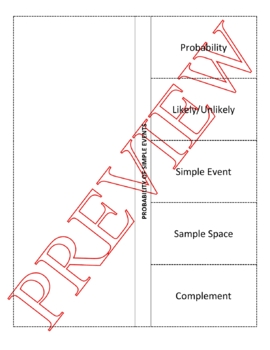 Probability Foldable and Powerpoint
