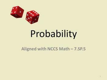 Probability Full Lesson Bundle - 7.SP.5