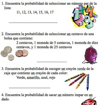 Probability Fun (SPANISH)