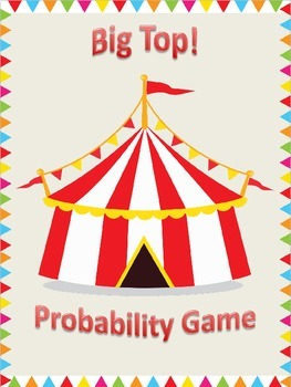 Probability Game, Activities, and Discussion Cards