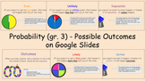 Probability (Gr. 3 ) - Frequency of Outcomes on Google Slides