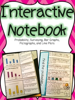 Probability & Graphing Interactive Notebook
