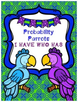 Probability - I Have Who Has Game