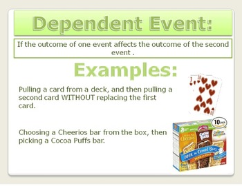 Probability: Independent and Dependent Events PPT 7.SP.8