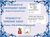 Probability - Independent and Dependent Practice