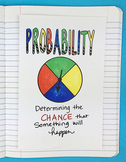 Doodle Notes - Probability Interactive Notebook Foldable by Math Doodles