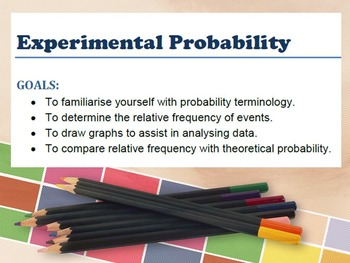 Probability - Investigating relative frequency