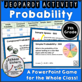 Probability Jeopardy Game