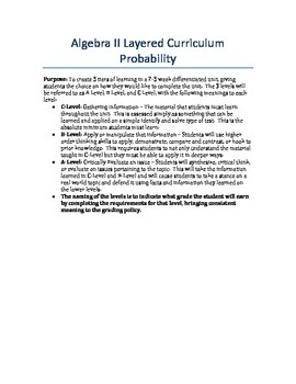 Probability Layered Unit