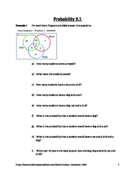 Probability Lesson 1 of 4