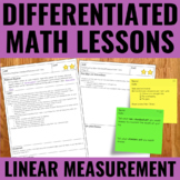 Measurement Lessons for Guided Math - Differentiated