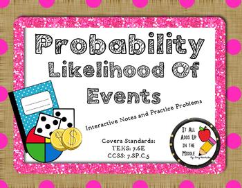 Probability & Likelihood of Events