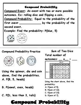 Probability MEGA Foldable