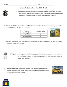 Probability ~ Making Predictions