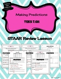 Probability-Making Predictions STAAR REVIEW LESSON - TEKS 7.6H