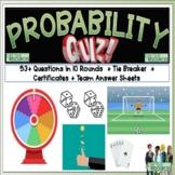Probability Math Quiz