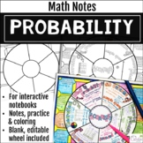 Probability Math Wheel
