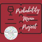Probability Menu Project