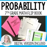 Probability Mini Tabbed Flip Book for 7th Grade Math