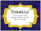 Probability Centers: 3 Fabulous, No-Prep Activities!