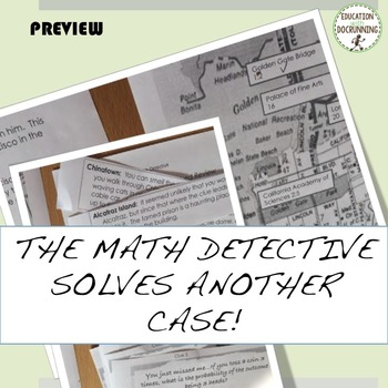 Probability Math Detective Activity for engaging students