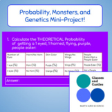 Probability, Monsters, and Genetics Mini-Project! DISTANCE