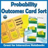 Probability Outcomes Card Sort