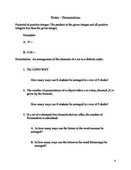 Probability Packet